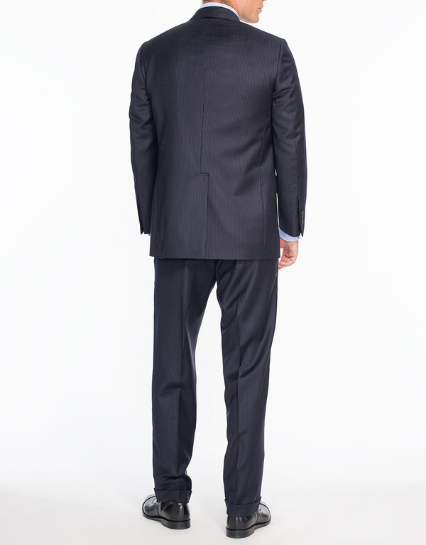 NAVY PINSTRIPE SUIT