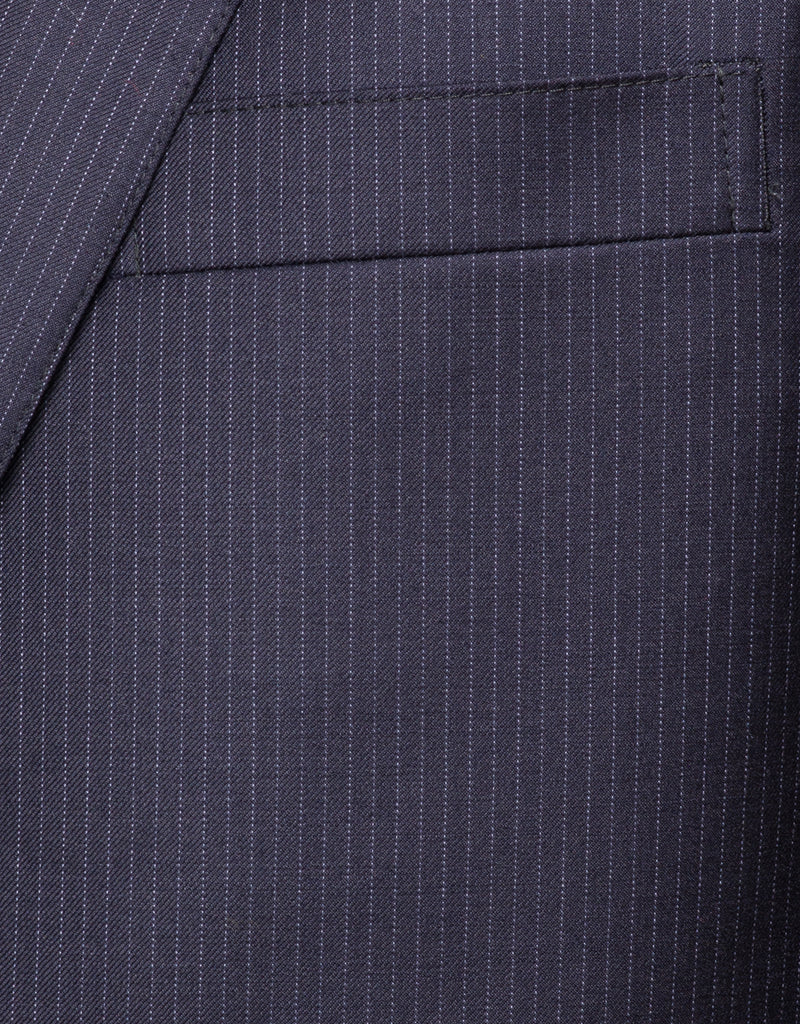 NAVY PINSTRIPE SUIT - CLASSIC FIT