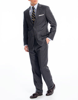 GREY MULTI PANE SUIT