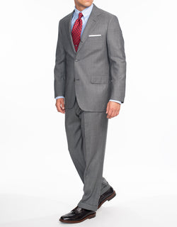 LIGHT GREY NAILHEAD SUIT