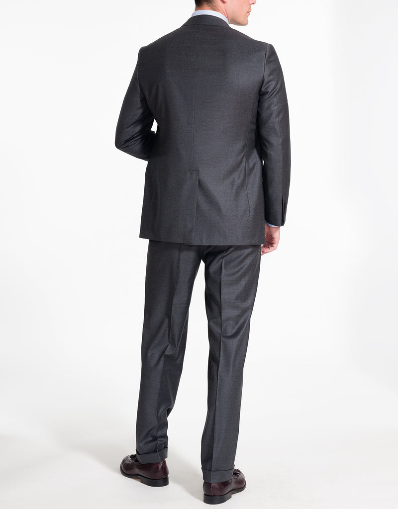 SOLID CHARCOAL SUIT