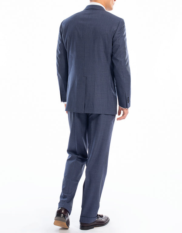 BLUE NARROW STRIPE SUIT