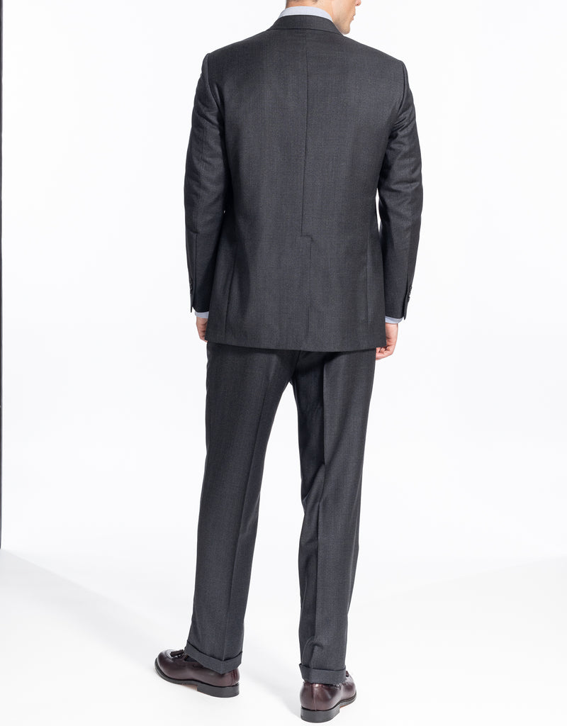 CHARCOAL CHECK SUIT