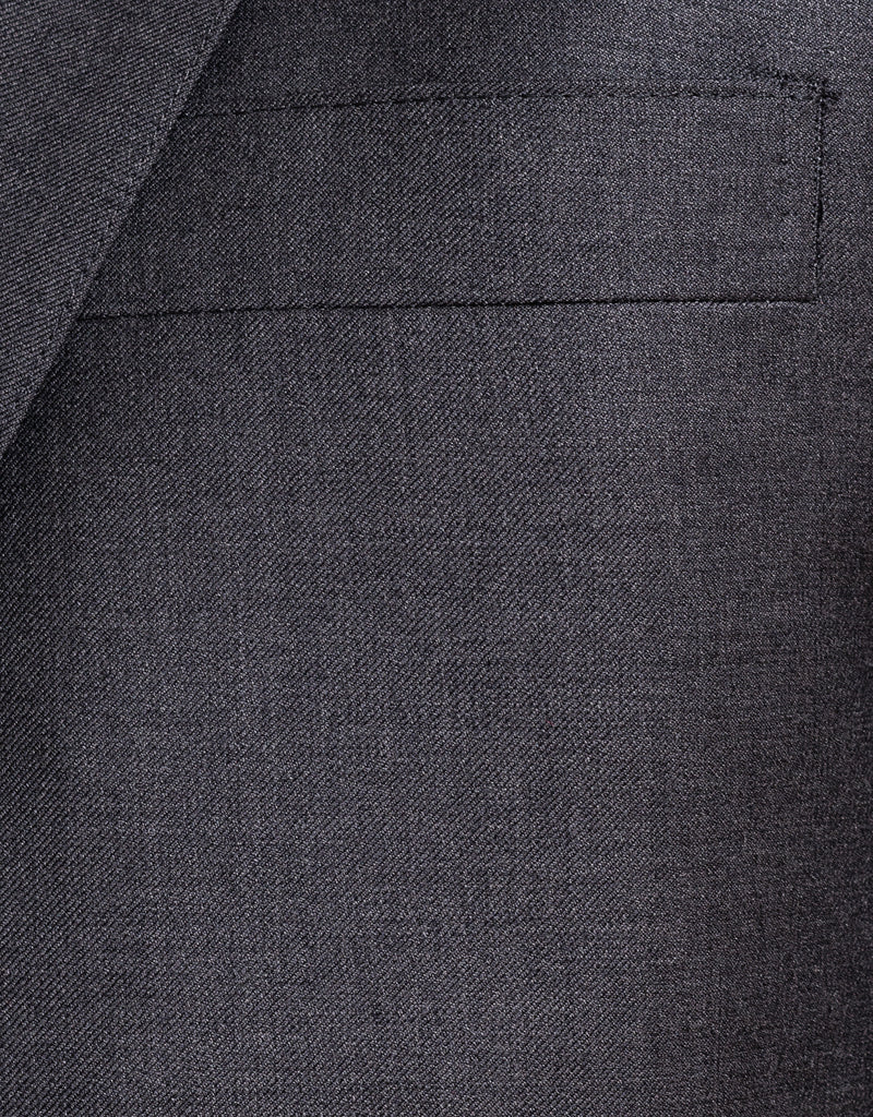 SOLID GREY SUIT - TRIM FIT