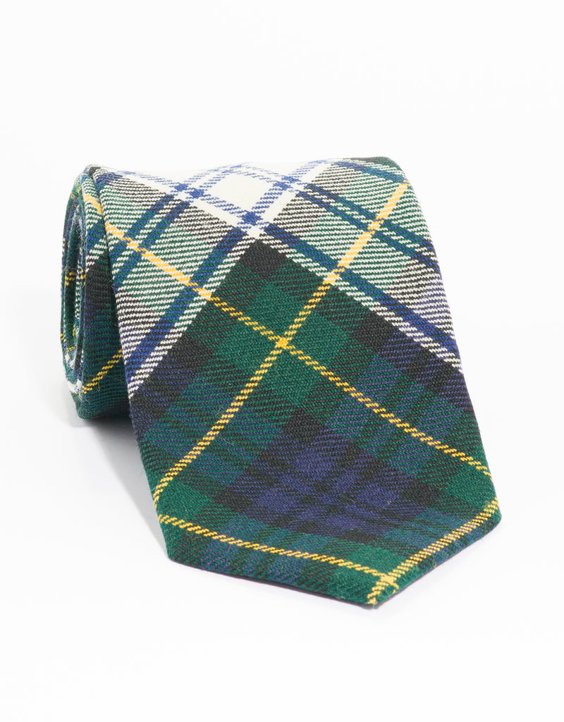 WOOL TARTAN TIE - GORDON DRESS