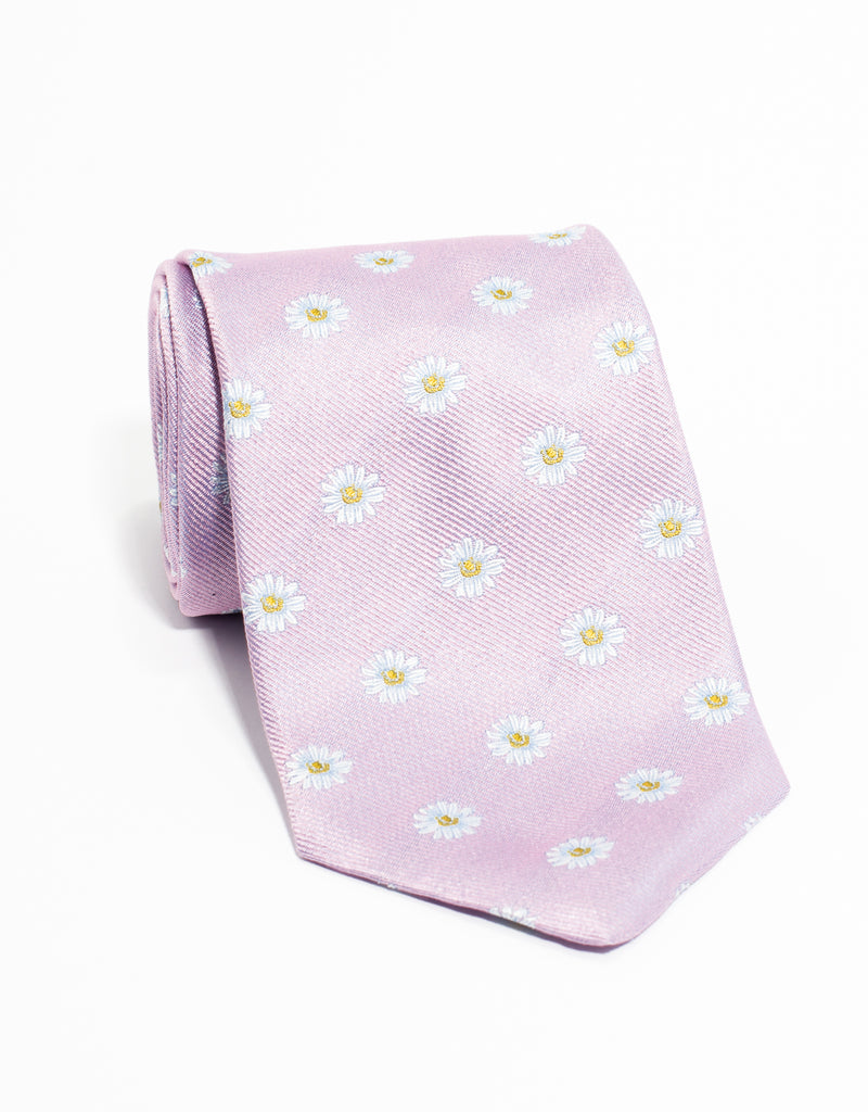 EMBLEMATIC  DAISY TIE - PINK