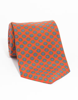 PRINT CROSS TIE - RED