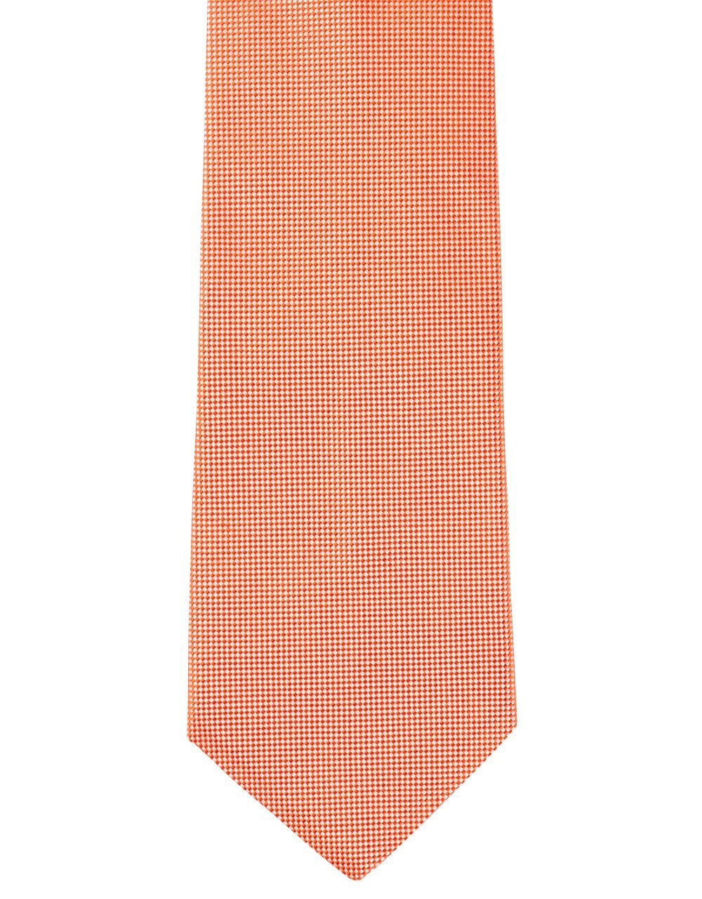 PIN CHECK TIE - RED/WHITE