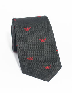 EMBLEMATIC WHIFFENPOOFS TIE - BLACK