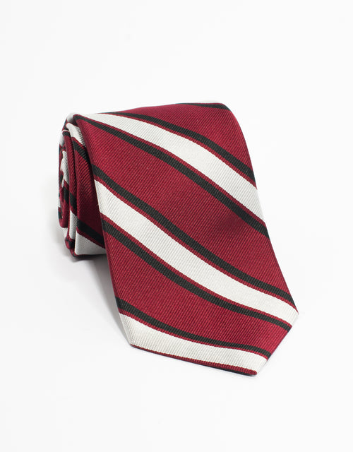 TRADITIONAL STRIPE - RED/SIL
