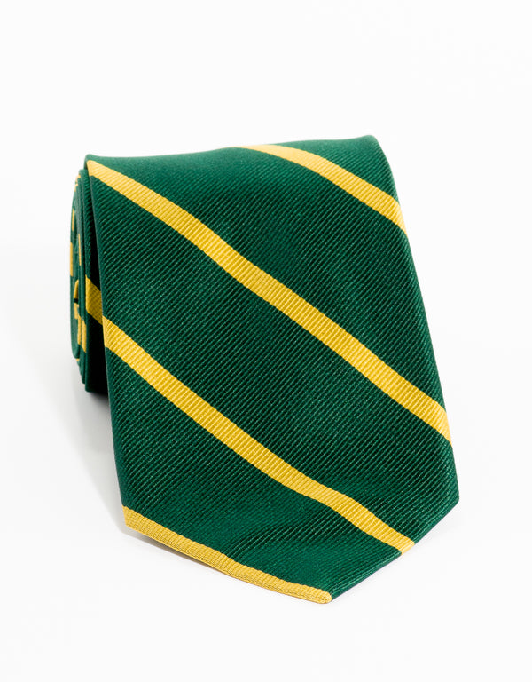 SINGLE BAR STRIPE - GREEN/GOLD