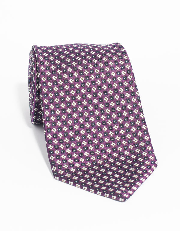 MACCLESFIELD NEAT MADE IN US - PURPLE
