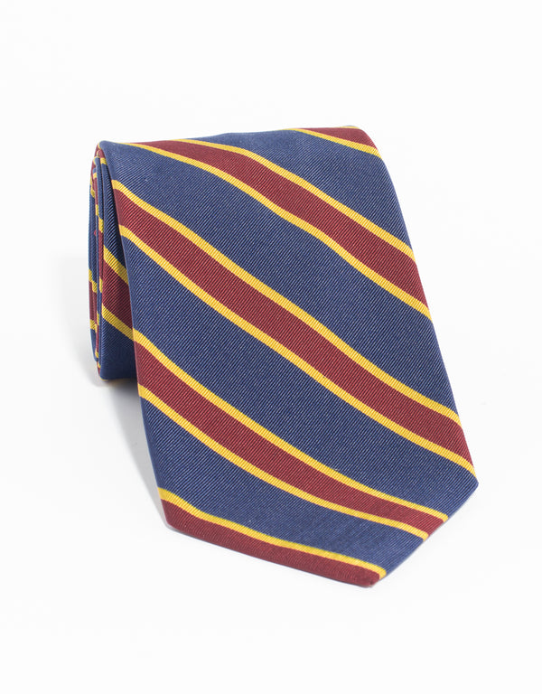 MOGADOR WIDE BAR TIE - NAVY