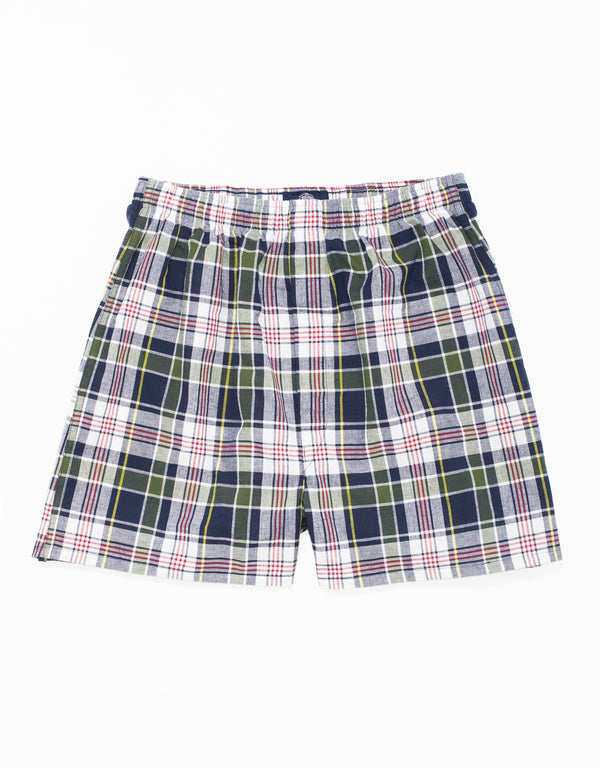 MADRAS BOXER SHORT