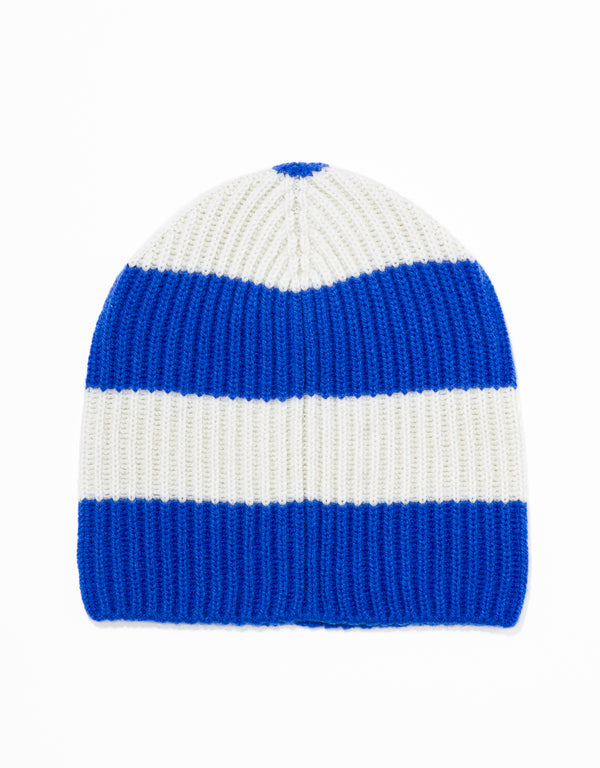 UNIVERSITY STRIPE HAT - BLUE/WHITE
