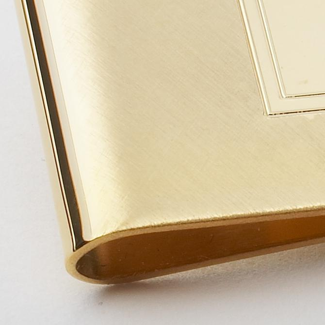 MONEY CLIP - GOLD RECTANGLE