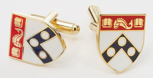 UNIVERSITY OF PENNSYLVANIA CUFFLINKS - GOLD