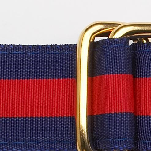 Navy/Red Ribbon Belt