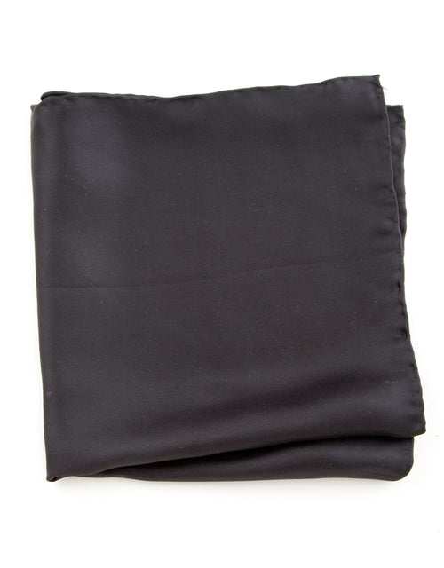 POCKET SQUARE - BLACK