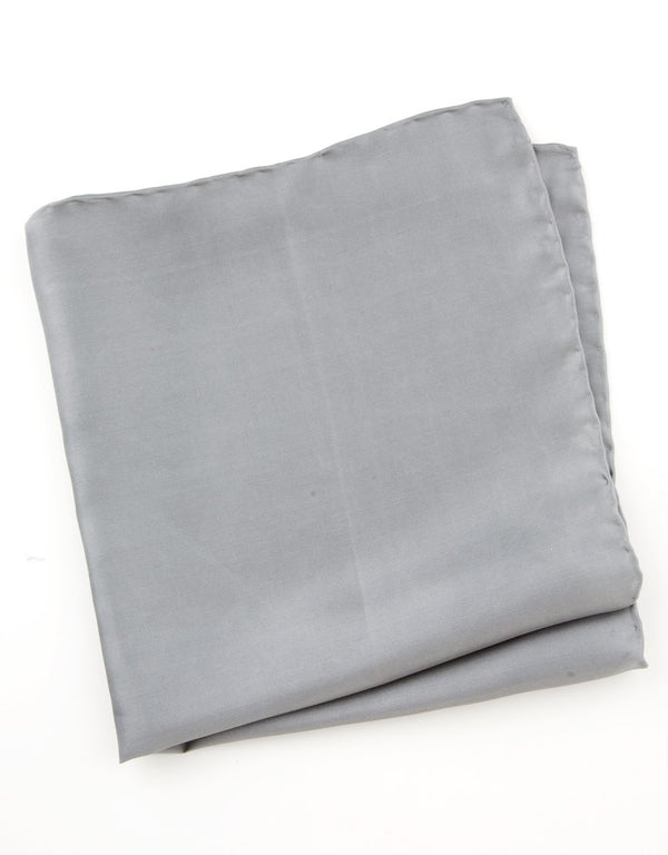 Pocket Square Charcoal