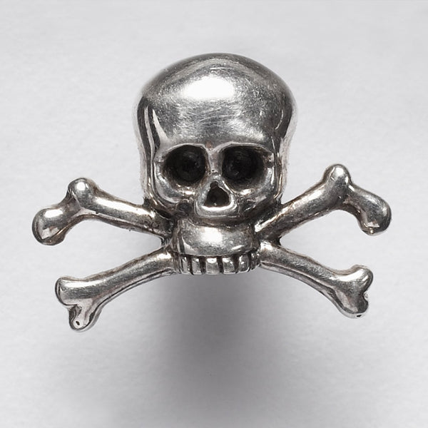 SKULL AND CROSSBONE LAPEL PIN