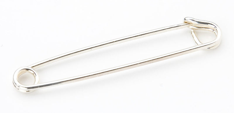 Safety Pin Silver