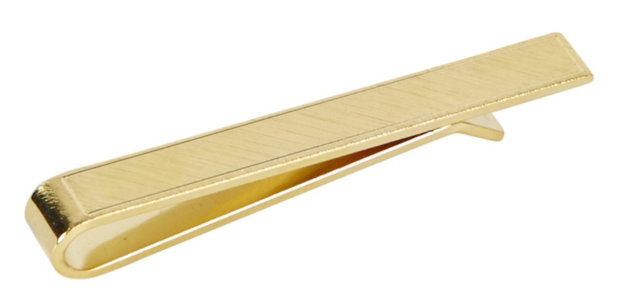 SLIDE-ON TIE BAR - GOLD