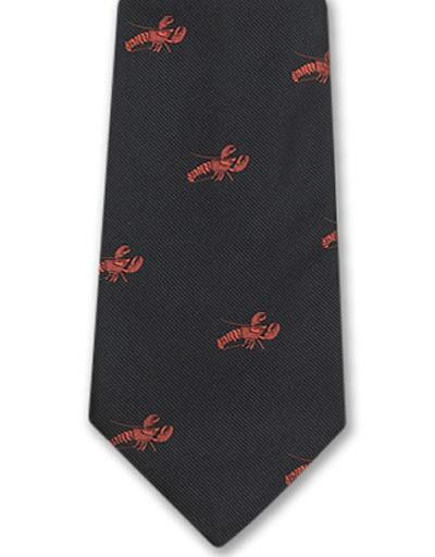 EMBLEMATIC LOBSTER TIE - NAVY