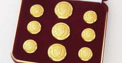 Dartmouth College Gold Buttons
