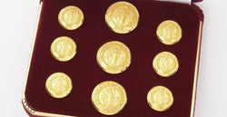 University of Virginia Gold Buttons