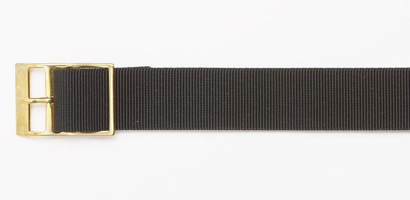 SOLID BLACK WATCHBAND