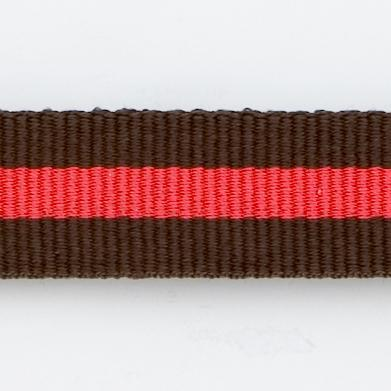 BROWN/RED WATCHBAND
