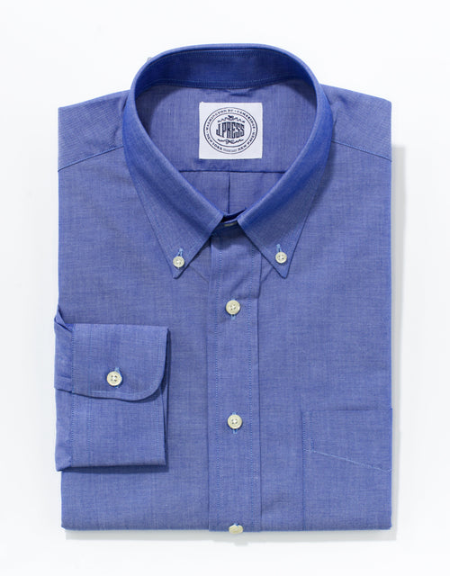 CHAMBRAY BUTTON DOWN - BLUE