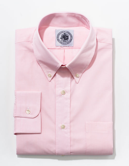 END-ON-END BUTTON DOWN - PINK