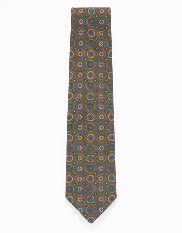 ANCIENT MADDER TIE - BROWN
