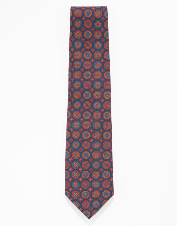 ANCIENT MADDER TIE - NAVY