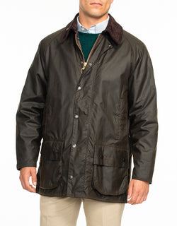 BARBOUR BEAUFORT® WAX JACKET - OLIVE