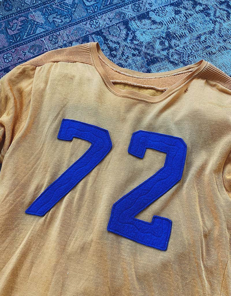 VINTAGE 72 JERSEY - GOLD/PURPLE - J. PRESS