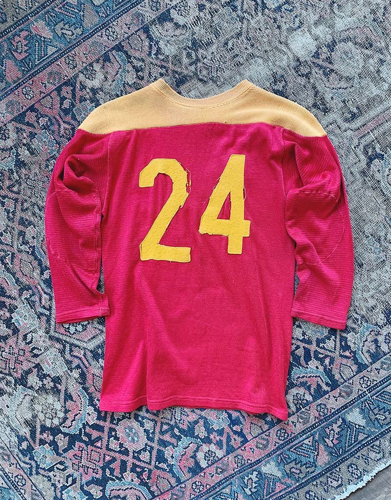 VINTAGE 24 JERSEY - RED/GOLD