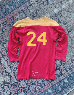VINTAGE 24 JERSEY - RED/GOLD - J. PRESS