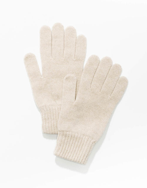 CASHMERE GLOVES - NATURAL
