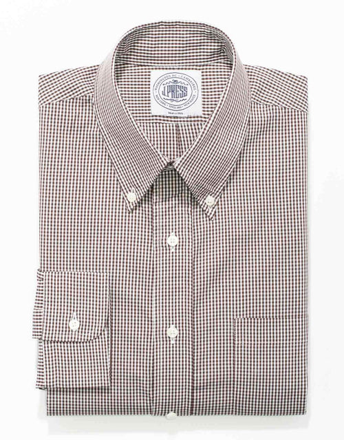BROWN SMALL GINGHAM