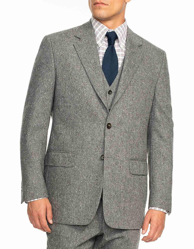 GREY DONEGAL SPORT COAT - CLASSIC FIT