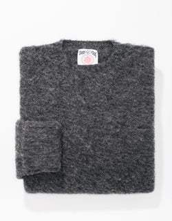 SHAGGY DOG SWEATER GREY - CLASSIC FIT