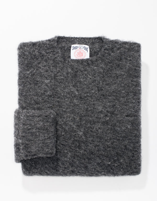 SHAGGY DOG SWEATER CLASSIC - GREY