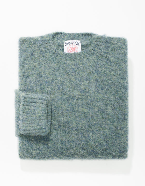 SHAGGY DOG SWEATER CLASSIC - LOVAT
