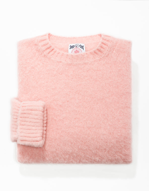 SHAGGY DOG SWEATER PINK - CLASSIC FIT