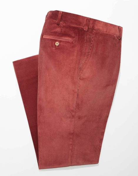 RUST CORDUROY PANTS