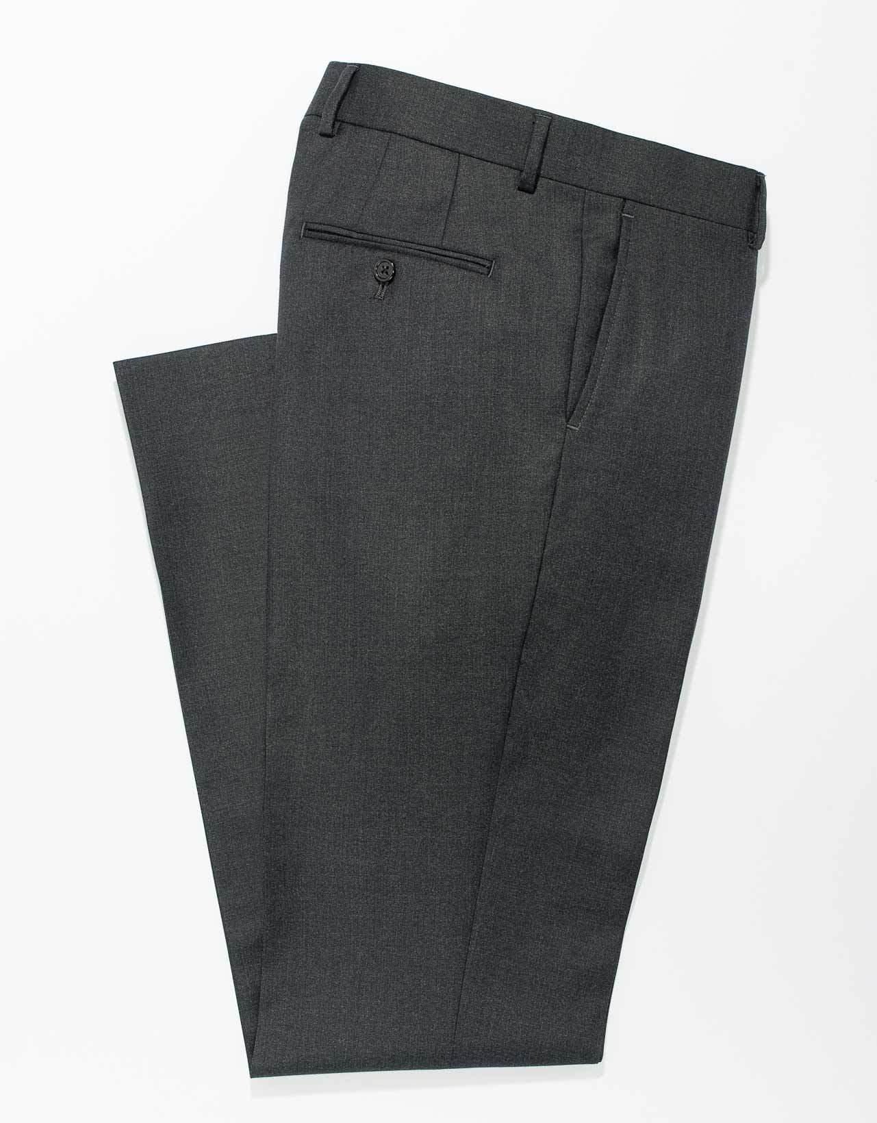 CHARCOAL WOOL - TRIM FIT