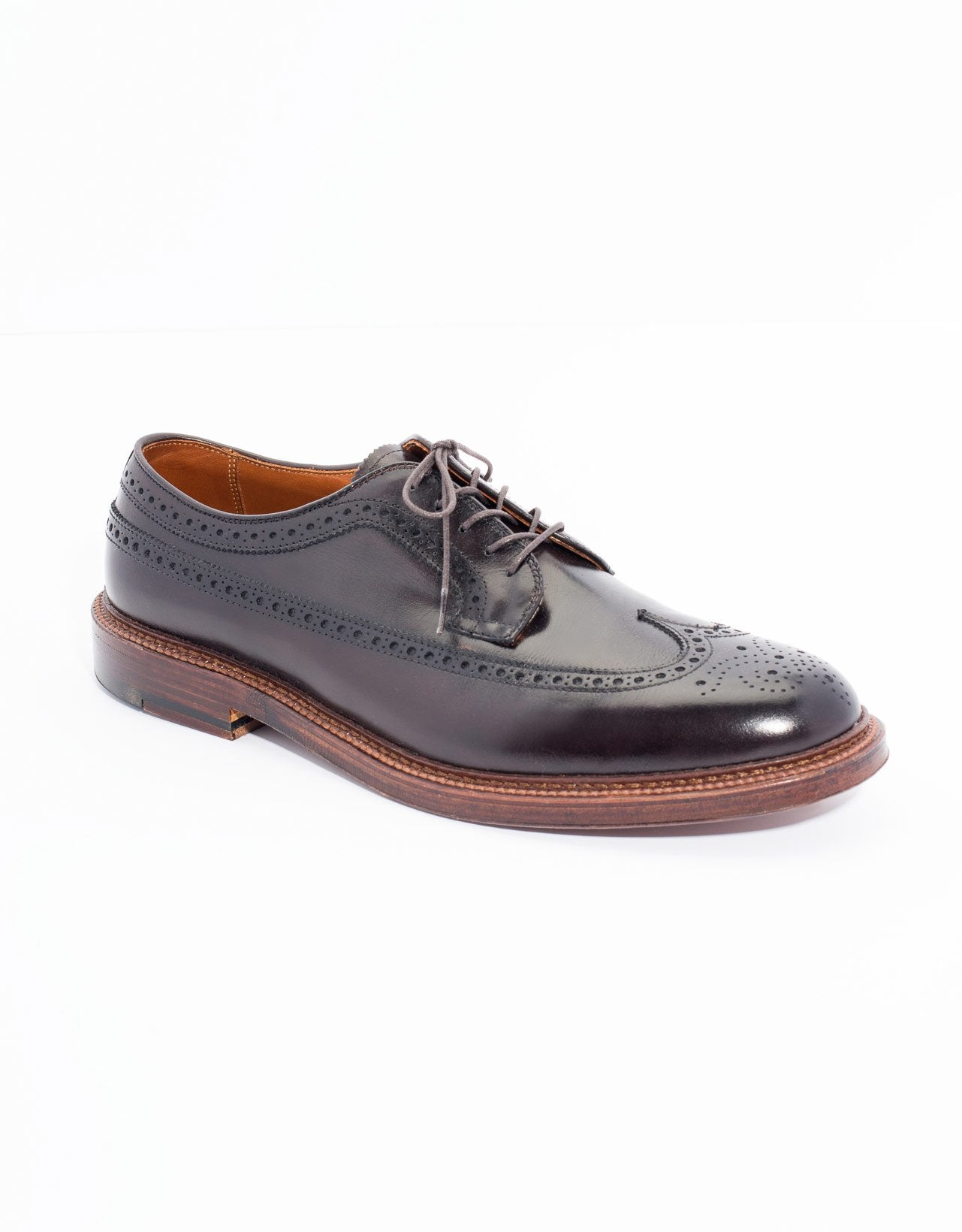 ALDEN LONG WING BLUTCHER CALFSKIN- BROWN